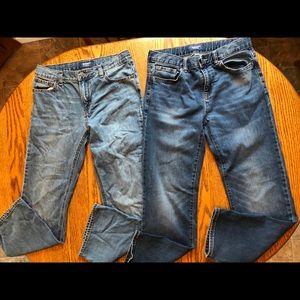 Boys jeans old navy size 12 husky